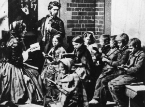 Ragged Schools were set up to teach the poor